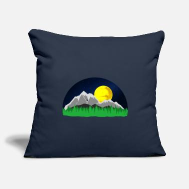 Montagne Montagnes montagnes montagnes - Housse de coussin