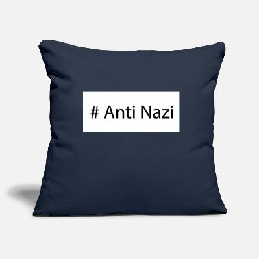 Anti Nazis # Anti Nazi design - Pillowcase 17,3'' x 17,3'' (45 x 45 cm)