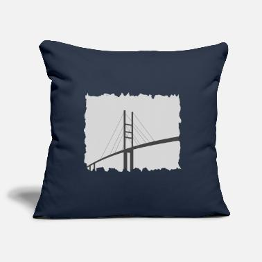 Rügen Frayed Rügen bridge - Pillowcase 17,3'' x 17,3'' (45 x 45 cm)