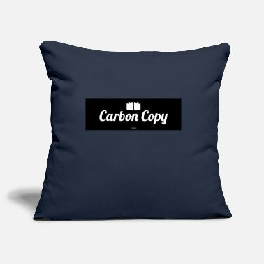 Carbon Carbon Copy - Pillowcase 17,3'' x 17,3'' (45 x 45 cm)