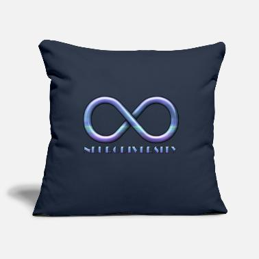 Low-functioning Infinity Sign for Neurodiversity - Pillowcase 17,3'' x 17,3'' (45 x 45 cm)