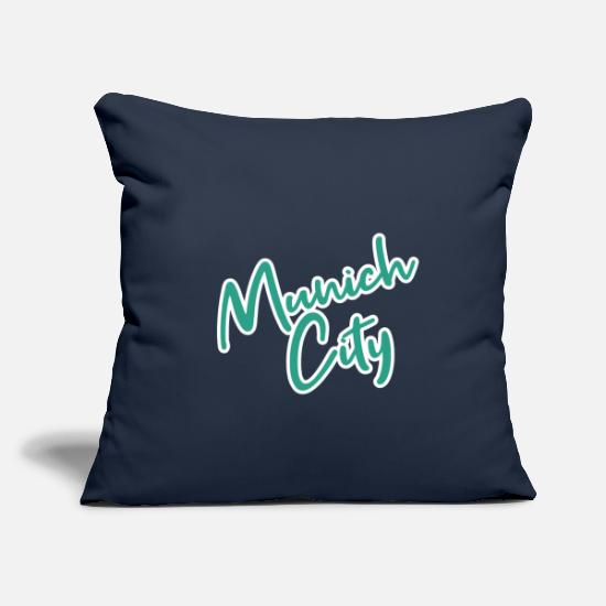Munich Pillow Cases - Munich - Pillowcase 17,3'' x 17,3'' (45 x 45 cm) navy