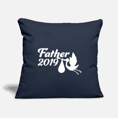 Childbirth Father Father 2019 Gift for childbirth - Pillowcase 17,3'' x 17,3'' (45 x 45 cm)