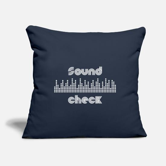 Gift Idea Pillow Cases - Festival Shirt · Open Air · Music Gift - Pillowcase 17,3'' x 17,3'' (45 x 45 cm) navy