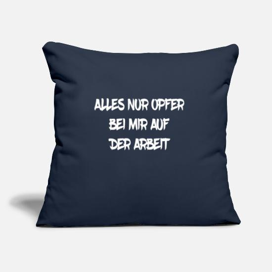 Cool Sayings Pillow Cases - Doctor surgeon saying funny funny macabre gift - Pillowcase 17,3'' x 17,3'' (45 x 45 cm) navy