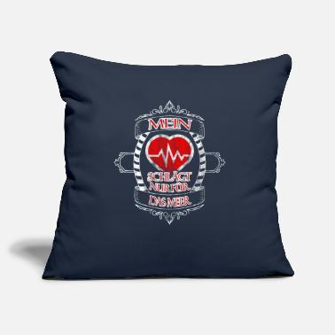 Decepticon My heart is only for the sea - Pillowcase 17,3'' x 17,3'' (45 x 45 cm)