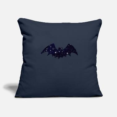 Batting Bat Bat Wing Bats - Pillowcase 17,3'' x 17,3'' (45 x 45 cm)