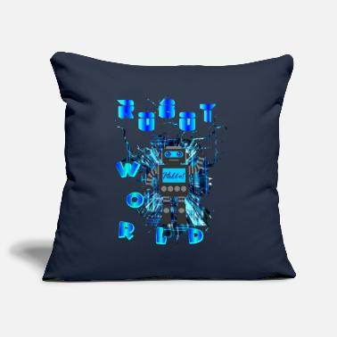 ROBOT WORLD - Pillowcase 17,3'' x 17,3'' (45 x 45 cm)