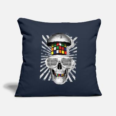 Rubik's Skull Cube - Pillowcase 17,3'' x 17,3'' (45 x 45 cm)