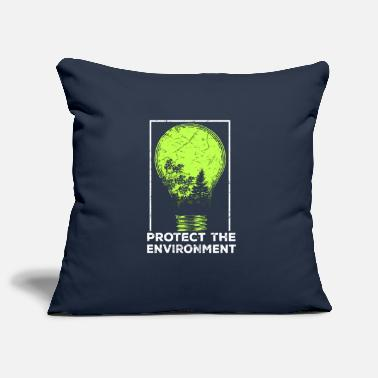 Protection Of The Environment Protect the Environment I Environmental Protection - Pillowcase 17,3'' x 17,3'' (45 x 45 cm)
