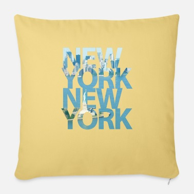 New York New York, New York - Pillowcase 17,3'' x 17,3'' (45 x 45 cm)