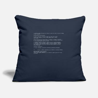 Blue Screen Blue Screen - Housse de coussin