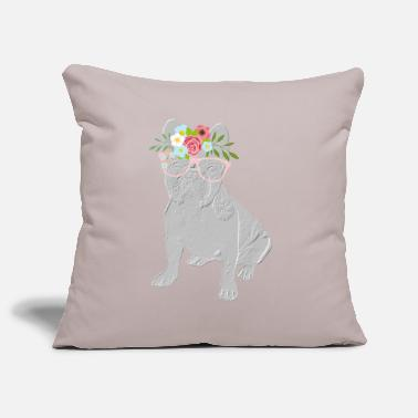 French BULLDOG french bulldog bully dog - Pillowcase 17,3'' x 17,3'' (45 x 45 cm)