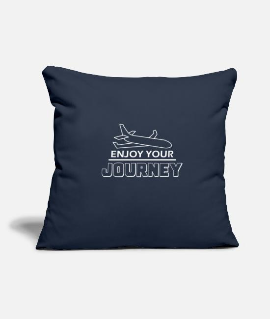 Travel Pillow Cases - Travel Travel - Pillowcase 17,3'' x 17,3'' (45 x 45 cm) navy