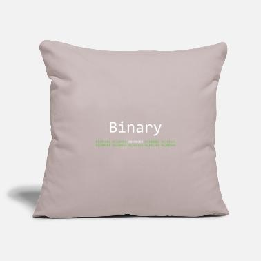Binary Binary is awesome - Housse de coussin