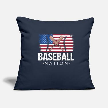 Nationality Baseball nation - Pillowcase 17,3'' x 17,3'' (45 x 45 cm)