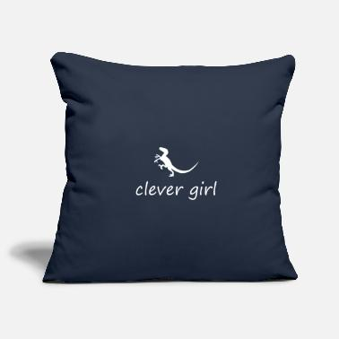 Clever Clever Girl - Housse de coussin