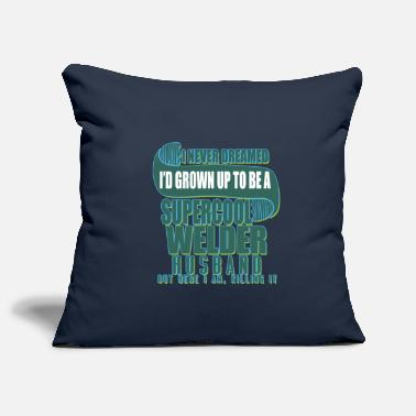 Baby I never dreamed that I was a super sweat - Pillowcase 17,3'' x 17,3'' (45 x 45 cm)
