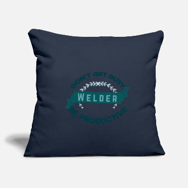 Trend Do not let welders keep you busy. - Pillowcase 17,3'' x 17,3'' (45 x 45 cm)