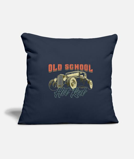 New Pillow Cases - HOT ROD Hot Rod Gift - Pillowcase 17,3'' x 17,3'' (45 x 45 cm) navy