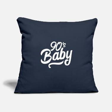 Hand Lettering 90s baby hand lettering - Pillowcase 17,3'' x 17,3'' (45 x 45 cm)