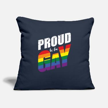 Proud Proud to be gay! - Pillowcase 17,3'' x 17,3'' (45 x 45 cm)