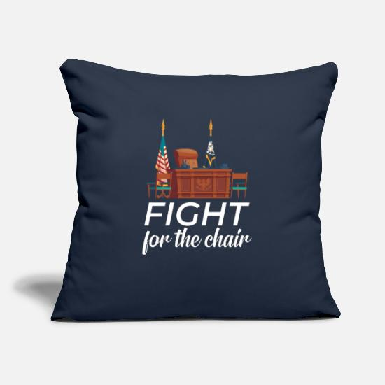 Usa Pillow Cases - Fight for the chair - Pillowcase 17,3'' x 17,3'' (45 x 45 cm) navy