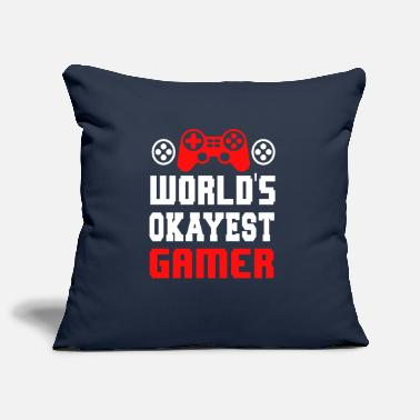 Game Over World's best gambler player console - Pillowcase 17,3'' x 17,3'' (45 x 45 cm)