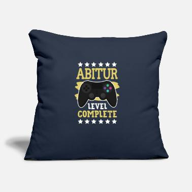 Abitur Level Complete - Pillowcase 17,3'' x 17,3'' (45 x 45 cm)