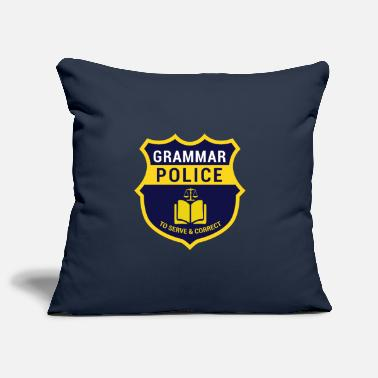 Officialbrands Grammer Police Gift for Nerds, Gift Nerds - Pillowcase 17,3'' x 17,3'' (45 x 45 cm)