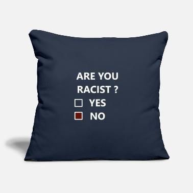 Racists RACIST - Pillowcase 17,3'' x 17,3'' (45 x 45 cm)