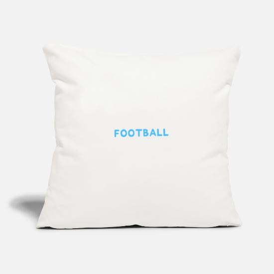 Majorette Pillow Cases - Funny IF Twirling What Easy They'd Call It Football - Pillowcase 17,3'' x 17,3'' (45 x 45 cm) natural white