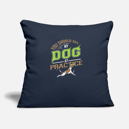 Dog Owner Pillow Cases - You Should See My Dog At Practice - Pillowcase 17,3'' x 17,3'' (45 x 45 cm) navy