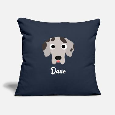 Great Dane Dane - Great Dane - Pillowcase 17,3'' x 17,3'' (45 x 45 cm)