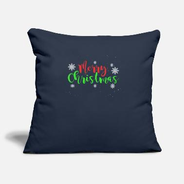 Season Merry Christmas - Snowflakes - Pillowcase 17,3'' x 17,3'' (45 x 45 cm)