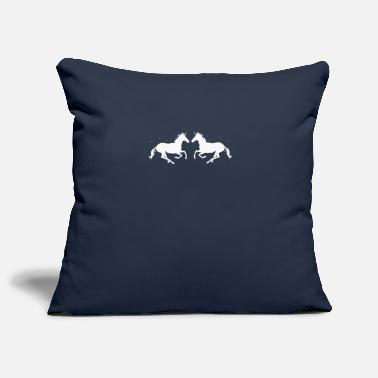 Gallop Galloping foals - Pillowcase 17,3'' x 17,3'' (45 x 45 cm)
