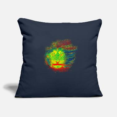 Rastafarian lion - Pillowcase 17,3'' x 17,3'' (45 x 45 cm)
