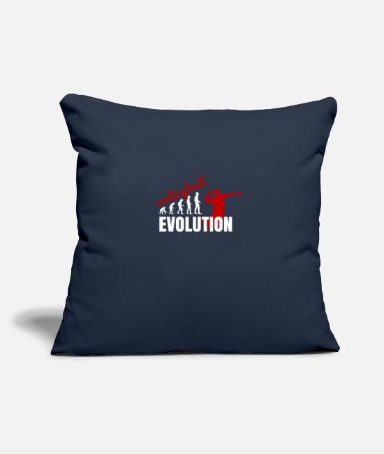 Volley Pillow Cases - Volleyball Evolution bestseller - Pillowcase 17,3'' x 17,3'' (45 x 45 cm) navy