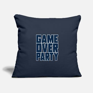 Flat Rate party game over - Pillowcase 17,3'' x 17,3'' (45 x 45 cm)