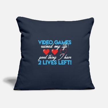 Gaming Collection Video Games ruined my life gamer gaming - Pillowcase 17,3'' x 17,3'' (45 x 45 cm)