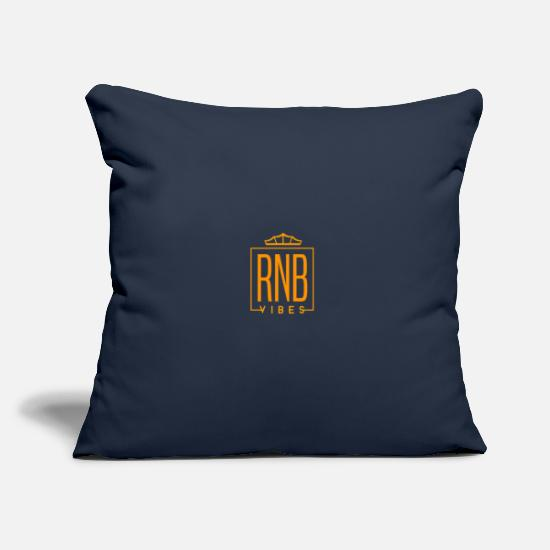 Love Pillow Cases - Cool t-shirt RNB Vibes gift - Pillowcase 17,3'' x 17,3'' (45 x 45 cm) navy