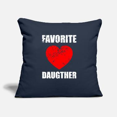 Daughter Daughters, daughter, daughter-in-law, favorite daughter - Pillowcase 17,3'' x 17,3'' (45 x 45 cm)