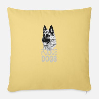 Dog Police dog - Pillowcase 17,3'' x 17,3'' (45 x 45 cm)
