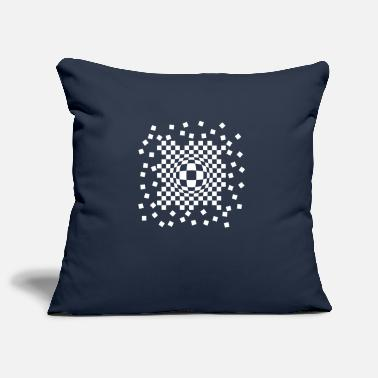 Checkerboard Checkerboard leak - Pillowcase 17,3'' x 17,3'' (45 x 45 cm)