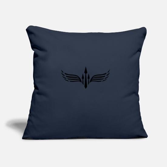 Symbol  Pillow Cases - Logo JR Society - Pillowcase 17,3'' x 17,3'' (45 x 45 cm) navy