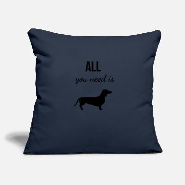 Dachshund dachshund - Pillowcase 17,3'' x 17,3'' (45 x 45 cm)