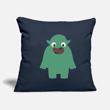 Scary Monster The scary monster - Pillowcase 17,3'' x 17,3'' (45 x 45 cm)