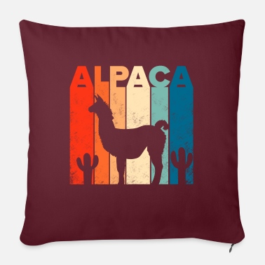 Wonderful Alpaca | Alpaca | Gift idea - Pillowcase 17,3'' x 17,3'' (45 x 45 cm)
