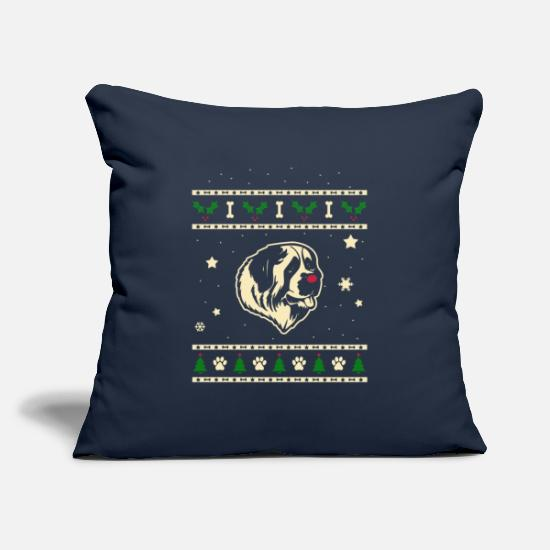 Christmas Pillow Cases - Muscovite Watchdog Christmas Gift - Pillowcase 17,3'' x 17,3'' (45 x 45 cm) navy