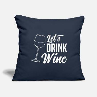 Red Wine wine red wine - Pillowcase 17,3'' x 17,3'' (45 x 45 cm)